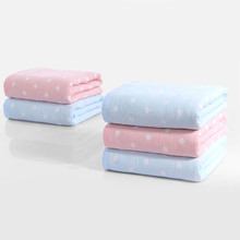 Lovely Polka Dot Soft Cotton Swaddle Blanket
