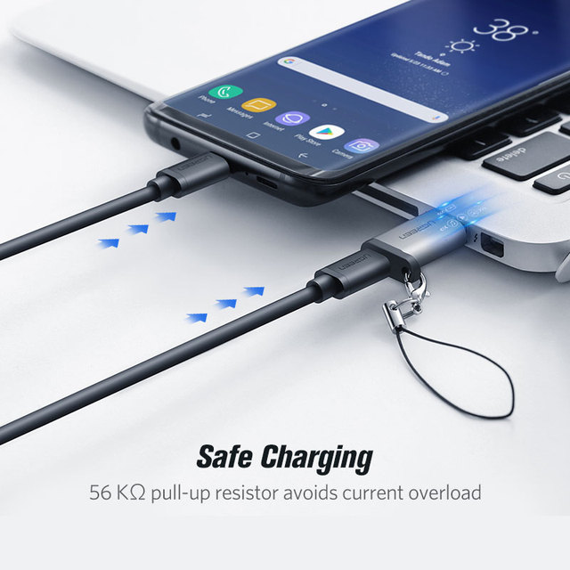 Ugreen USB C Adapter USB 3.0 2.0 Male to USB 3.1 Type C Female Type-C Adapter for Laptop Samsung Xiaomi 10 Earphone USB Adapter 4