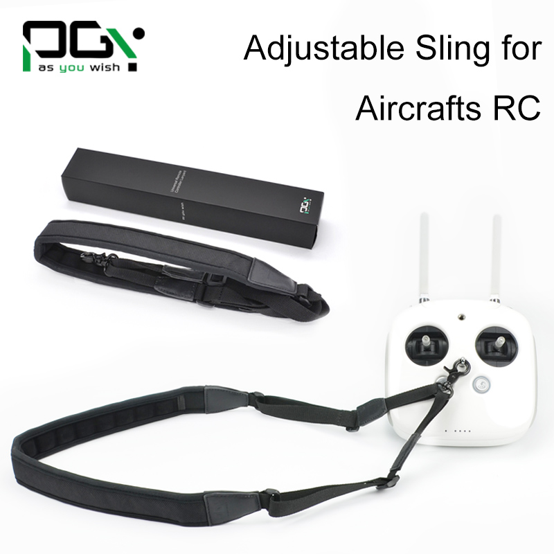 PGY Remote Controller Quick Rapid Shoulder Sling Black Strap Belt Sling Sponge Pad forTransimitter RC Parts DJI Phantom inspire