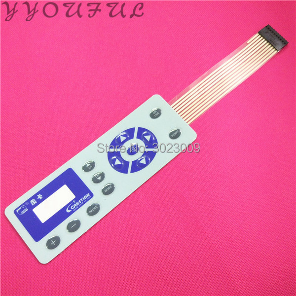 High quality Vinyl cutting plotter spare parts Pcut CT1200 900 630 keyboard p cut display control