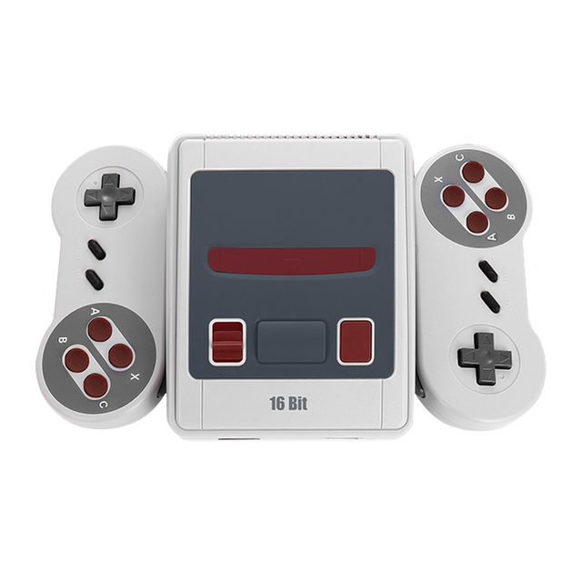 16 Bit Retro Mini Video Game Console Built-In 167 Classic Games Family Handheld Game Console Child gift Christmas Support AV