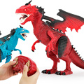 Infrared RC Dinosaur Remote Control Dragon Shaking Head Light Up Eyes & Sounds Making Fun Electric Simulation Toys Boys Gift