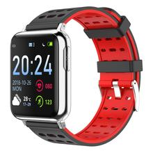 1.3-Inch Color Screen ECG+PPG Blood Pressure Heart Rate Monitor IP67 Waterproof Fitness Tracker Sport Bluetooth Smart Watch