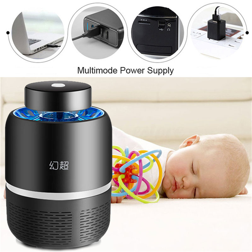 UV 5W Electronic Mosquito Killer Repeller Zapper LED Indoor Bed Room Insect Killer Pest Controll Outdoor Home Fly Bug Trap Lamp