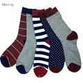 Новый Стиль Человек роскошные красочные Бизнес бренд носки, гребнечесанию Хлопковые носки США 7.5-12 (5 пар/лот)