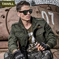 TAWILL Military jean Army bomber Men Jackets Coats Autumn 101 Air force one Casuals men's jacket 2016 New Brand Clothing 9931
