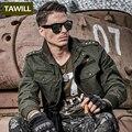 TAWILL jean bombardero Ejército Militar Hombres Chaquetas Abrigos Otoño 101 Air force one Casuals hombres chaqueta de 2016 Nueva Marca de Ropa 9931
