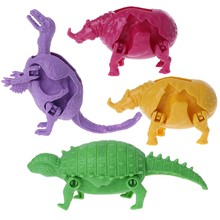 Transformer dinosaur Animal Model Toys For Kids Educational Play Toy(China)