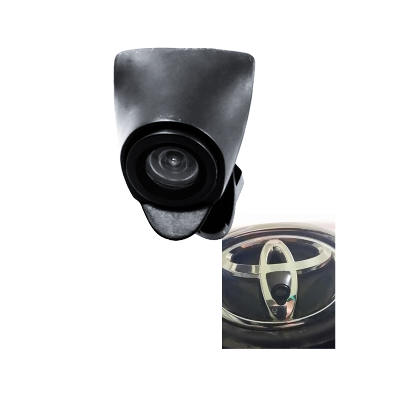 ccd night vision car front view camera for New Toyota Highlander 2.0T Verso EZ RAV4 PRADO LAND CRUISER camry 2015 front camera car strong booster pedal throttle controller factory outlet for toyota highlander new estima land cruiser prado new vios sequoia