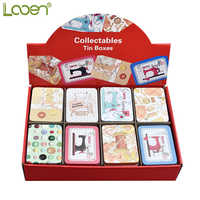 Looen Brand 16pcs Mark Iron Empty Storage Box Needle and Cable Storage Box Mini Storage Tool Travel And Home Storage Package