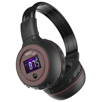 Good Quality Original Zealot B570 Stereo Wireless Headset Bluetooth Headphone Headband Headset With FM TF LED