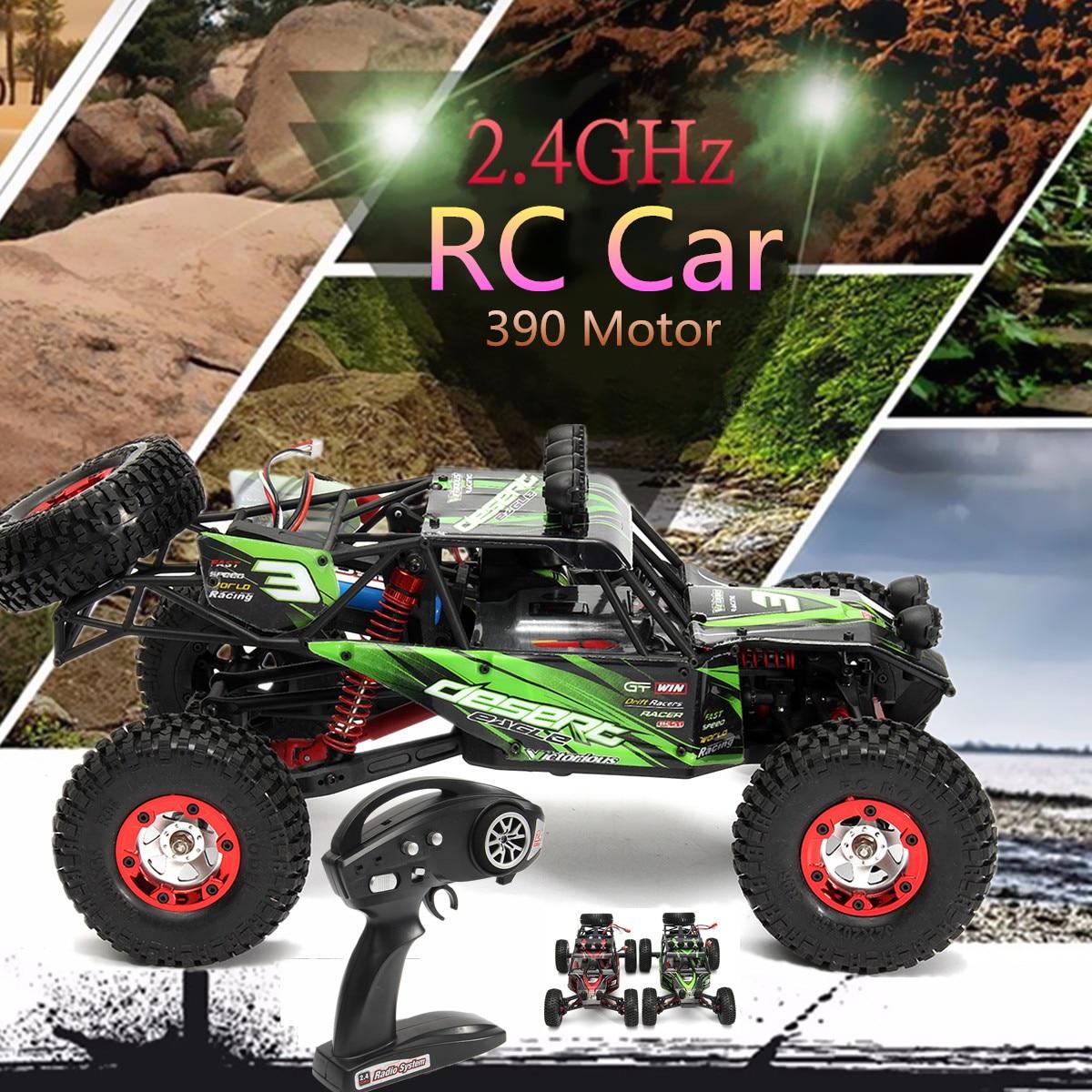 купить FY03 1/12 2.4GHz 4WD 390 High Speed Motor Off-Road Climbing Racing RC Car Remote Control EU Plug 220A Stepless Speed Controller по цене 5095.05 рублей