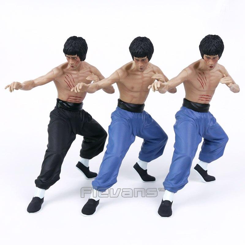 Figurine Bruce Lee jouets Kong Fu maître Bruce Lee vinyle à collectionner modèle jouet 3 Types 33 cm