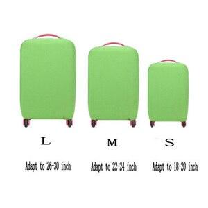 بلون السفر حقيبة غطاء غبار الأمتعة الغطاء الواقي ل 18-30 بوصة حقيبة تروللي بعجلات غطاء غبار إكسسوارات السفر