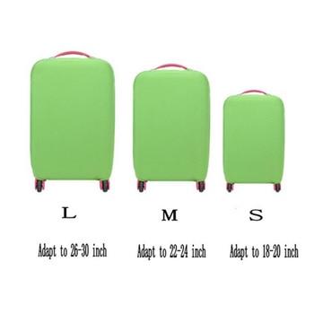 כיסוי אלסטי נמתח למזוודה, מגן מפני אבק ונזק