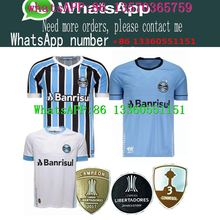 6f4eeb495fb Best Quality 18 Gremio Soccer SHIRT Gremio MILLER LUAN DOUGLAS DIEGO HAILON Home  Away third football