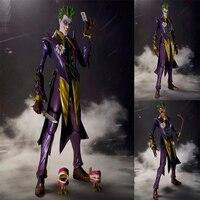 Action Figure JOKER Batman model toy 16cm movable PVC Joker Collectible figures toys kids gift F7488