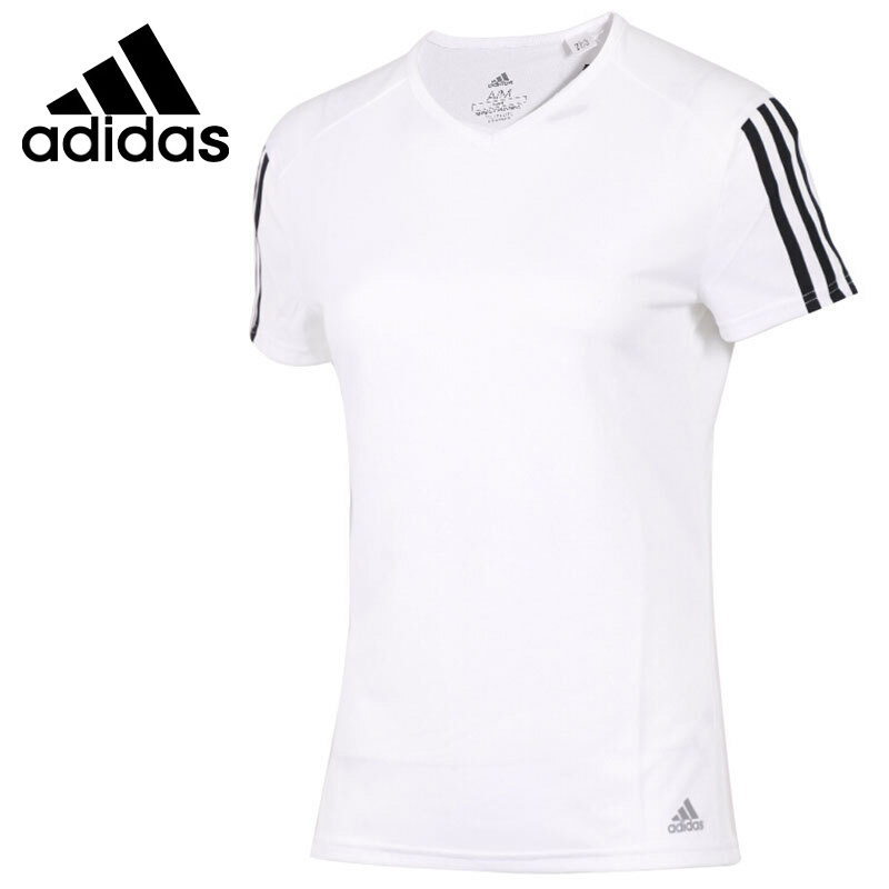Original New Arrival 2018 Adidas RUN 3S TEE W Women's T-shirts short sleeve Sportswear