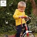 DB4546 dave bella bebé primavera niñas impreso hoodies sudadera primavera niños escudo boyes hoodie