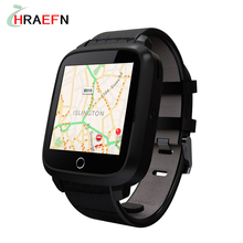 Hraefn Android 5.1 Smart Watch phone U11S 1G RAM 8G ROM MTK6580 Quad Core WIFI GPS Heart Rate Monitor SmartWatch with Camera