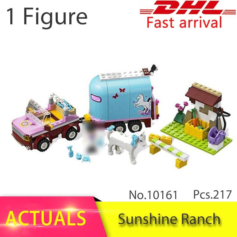 BELA 10161 Compatible avec Amis Soleil Ranch 41039 Modèle Blocs de Construction Emma Figure Éducatifs Jouets Pour Enfants Filles