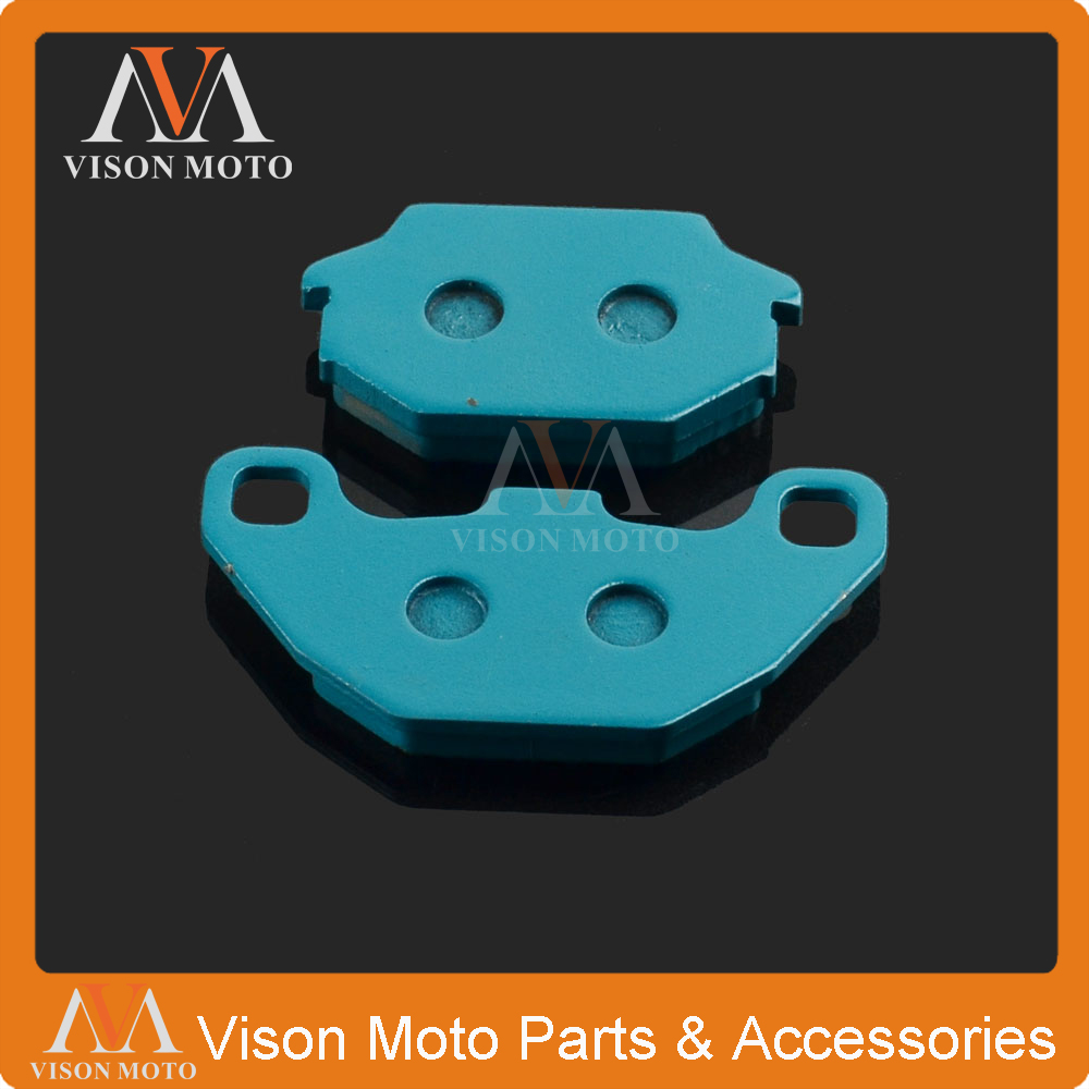Motorcycle Front Caliper Brake Pads For <font><b>SYM</b></font> COMBIZ 125 2011 2012 2013 2014 2015 HD125 <font><b>HD200</b></font> 2004 2005 2006 2007 image