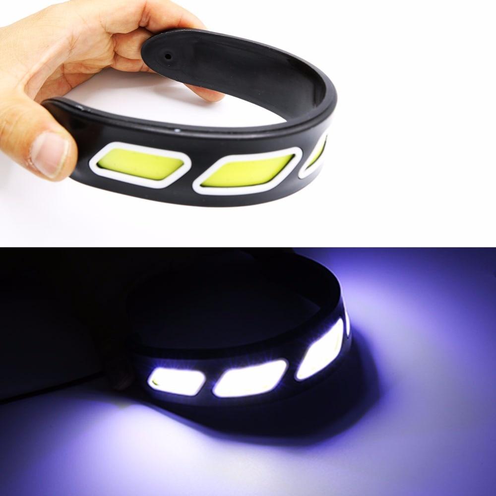 2PCS fleksibilno LED svjetlo za dnevnu vožnju COB DRL Super svijetlo - Svjetla automobila - Foto 5