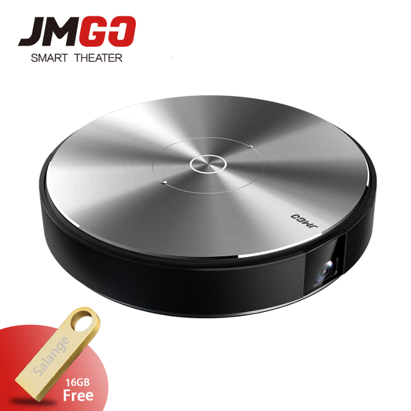 JmGO N7L Full HD Projetor 1980*1080 P Home Cinéma, 2G + 16G, 700 ANSI Lumens, 300 pouces, HDMI, USB, Bluetooth Android WIFI Soutien 4 K 3D