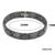 Magnética Hematita Healing salud Pulseras de Cerámica de Diseño de Cierre De Acero Inoxidable 316l Cruz Negro Pulsera De Cerámica para Las Mujeres Wen