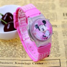 Мультфильм Гадкий я Миньоны стиль рисунок «Hello Kitty» Микки дети часовой моды силиконовые спортивные цифровые часы малыш Рождественский подарок