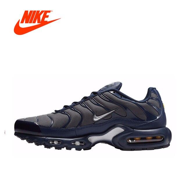 38d9867c4f ... INTERSPORT Autêntico Original Novo da Chegada Tênis de Corrida dos  homens Nike Air Max Mais Afinado ...