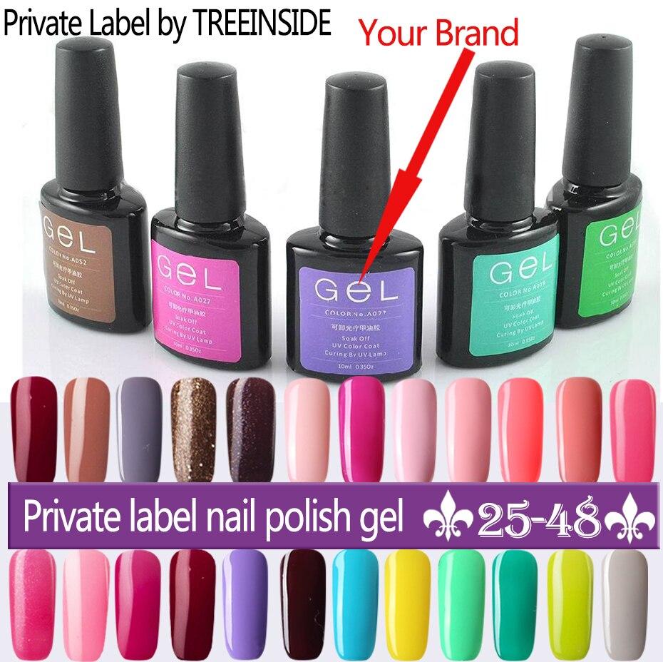 Private Label Nail Polish Wholesale 1 Color 1 Bottle Ok