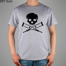 Jackass Skull Ass Male Skeleton Cotton Lycra t-shirt Top New Arrival Fashion Brand T Shirt For Men