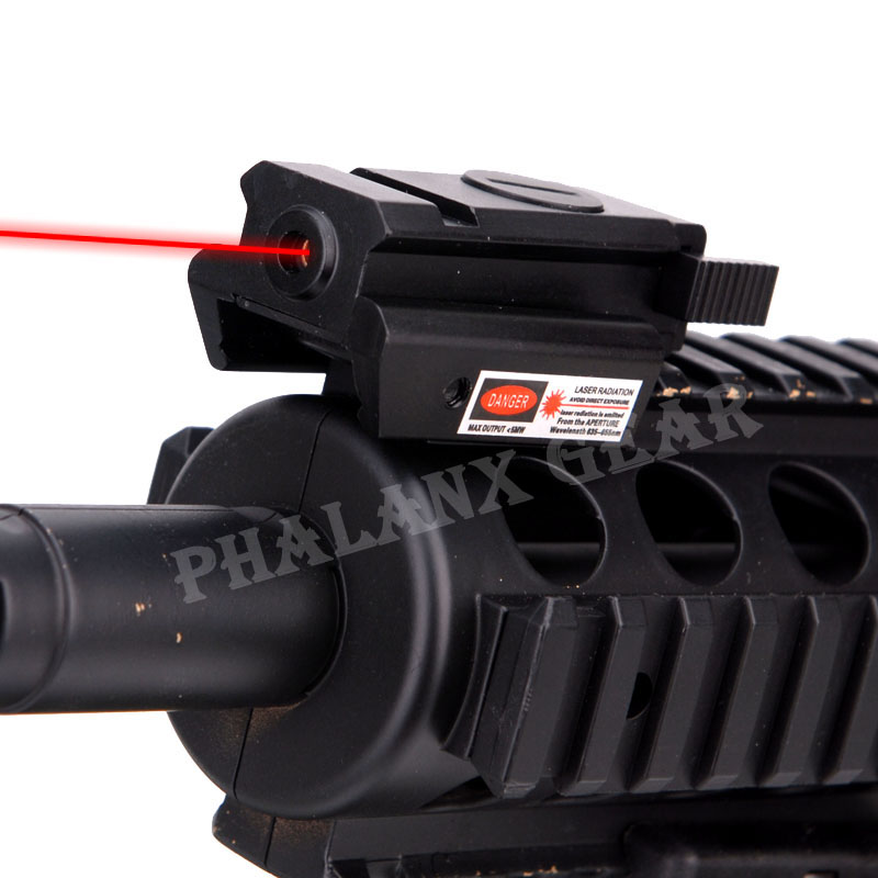 New metal hunting rifle gun war game Tactical Red Dot Laser sight Scope W/ Mount Compact For Pistol Gun Rifle