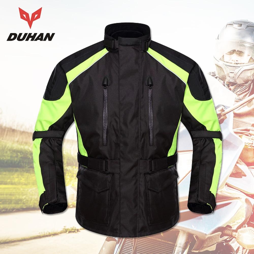 DUHAN Motorcycle Jacket Տղամարդկանց Motocross - Պարագաներ եւ պահեստամասերի համար մոտոցիկլետների - Լուսանկար 1