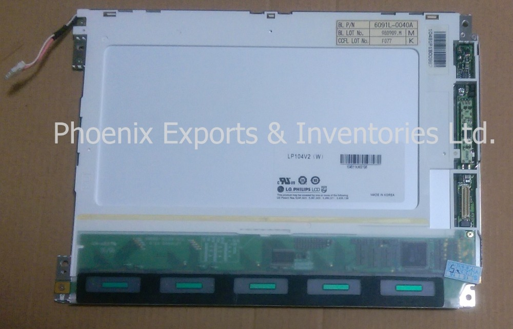 "LP104V2(W) 10.4"" LCD DISPLAY PANEL LP104V2 W LP104V2 W-in LCD Modules from Electronic Components & Supplies"