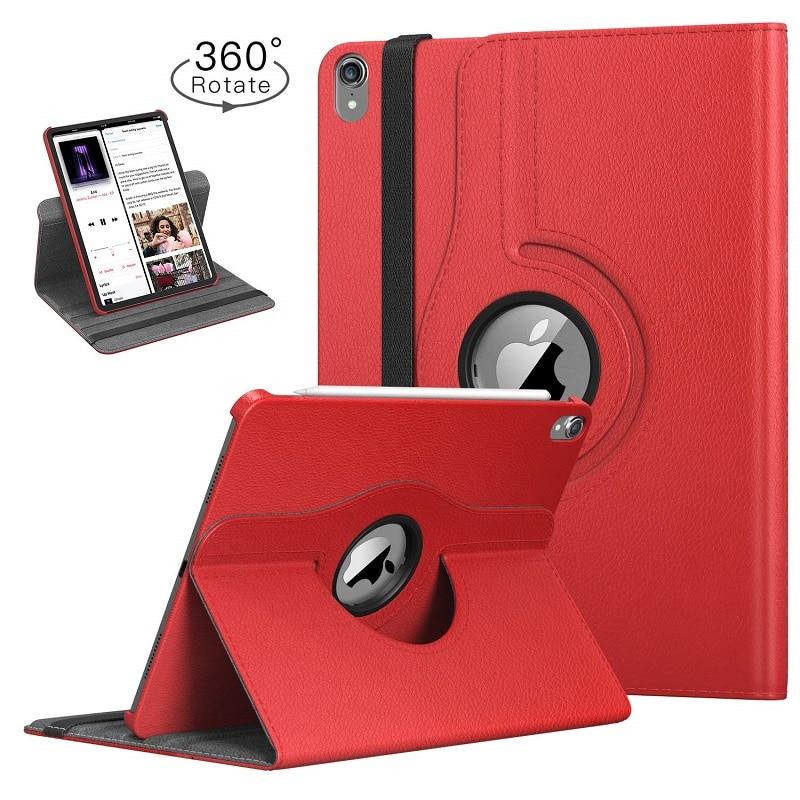 Apple Funda Rotating-Leather Coque for 360-Degree iPad Auto-Awake-Cover Case Smart-Sleep
