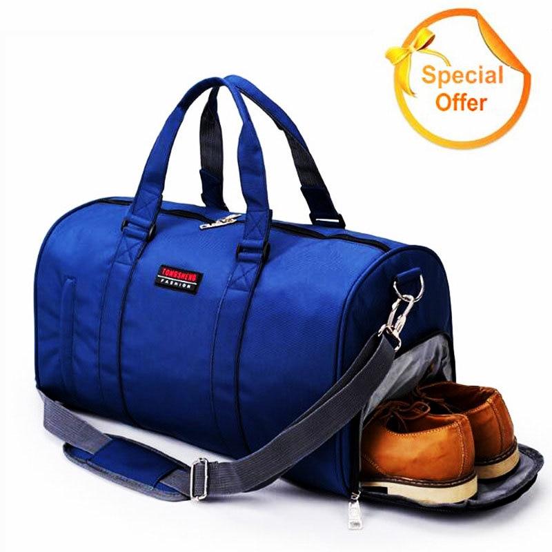 Hot Sale Mens Gym Bag Су өткізбейтін Оксфорд - Спорттық сөмкелер - фото 1