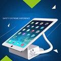7 pulgadas soporte de alarma para ipad air 7 a 9 pulgadas tablet con android interfaz del cargador para samsung antideslizante sostenedor de la exhibición