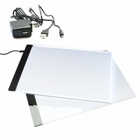A4 4mm Drawing Copy Board Animation LED Light Write Tracing Pad 23 3X33 5CM Without Radiation