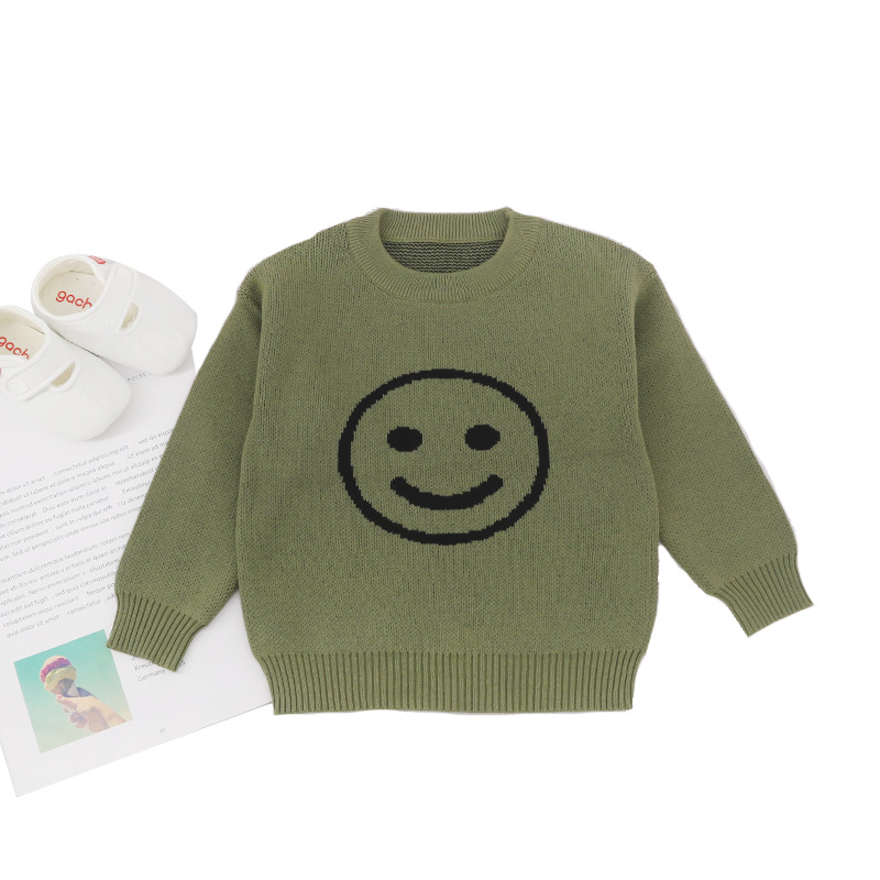 MILANCEl 2019 Children Baby Sweaters Dot Boys Sweaters Winter Girls Sweaters Knit Kids Pullover Casual Boys Clothing 1-6 Years