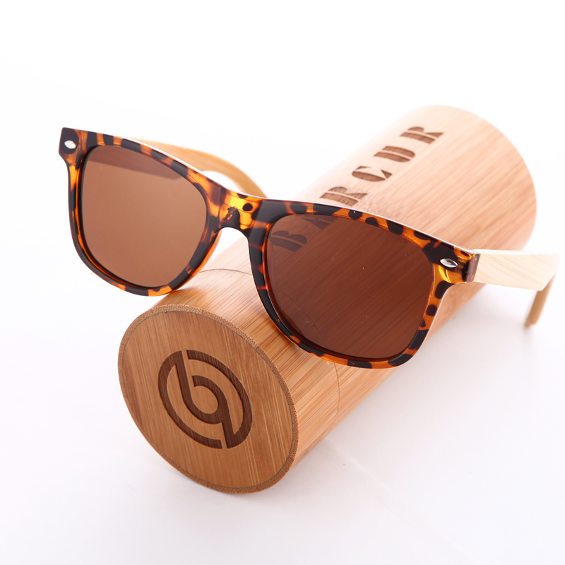 5f22919b65 BARCUR HD Real Polarized Wood Bamboo Sunglasses Retro Women Luxury 100% Handmade  Eyewear Fashion Ray Man Glasses -in Sunglasses from Apparel Accessories on  ...