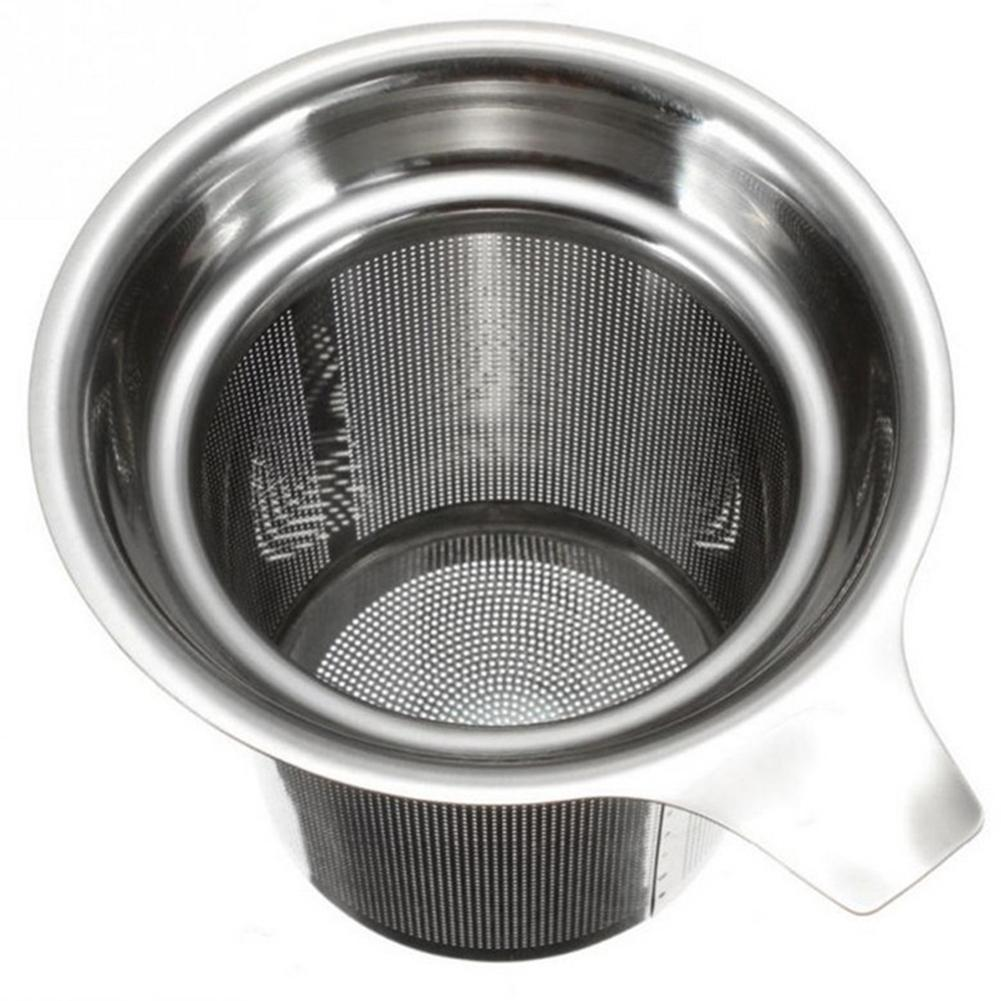 Extra Fine Mesh Stainless Steel Tea Strainer Leaf Filter For Brewing Steeping Loose Tea And Coffee-30