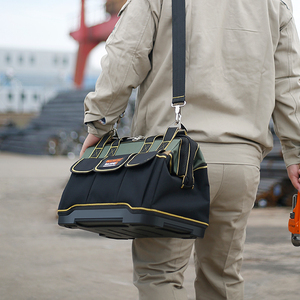 """Image 5 - New 2019  Tool bags 13"""" 16""""18 20""""1680 D Oxford Cloth  bag Top Wide Mouth Electrician bags"""