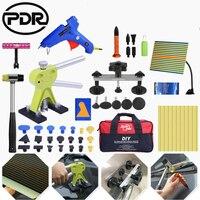 PDR tools Car Paintless Dent Repair Tool set Slide Hammer Glue Gun Dent Puller auto body repair tools Dent removal tool kit