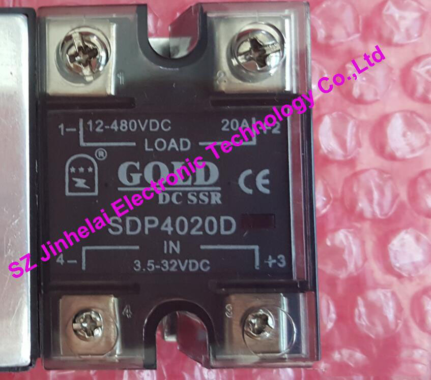 где купить  New and original  SDP4020D  GOLD   DC-DC Solid state relay    SSR  3.5-32VDC, 12-480VDC  20A  дешево