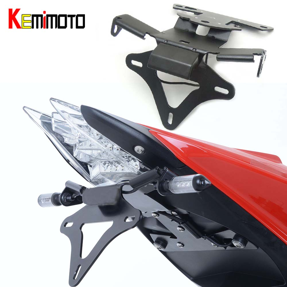 For BMW S1000R S1000RR HP4 Registration Plate Holder Tail Tidy Fender Eliminator License Plate Bracket Motorcycle Accessories
