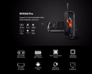 """Image 2 - Blackview BV9500 Pro wodoodporna krótkofalówka Smartphone 6GB RAM 128GB ROM octa core 5.7 """"FHD 18:9 10000mAh bateria telefon komórkowy"""