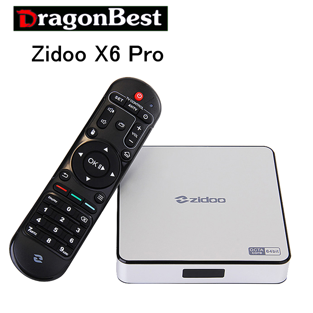 Newest ZIDOO X6 Pro Android TV Box RK3368 Quad Core 1.5GHz 2G/16G 802.11AC Bluetooth 3D Aluminium Smart TV Box IPTV Media смарт тв приставка zidoo x6 pro 2 16 гб с android 5 1 и wi fi