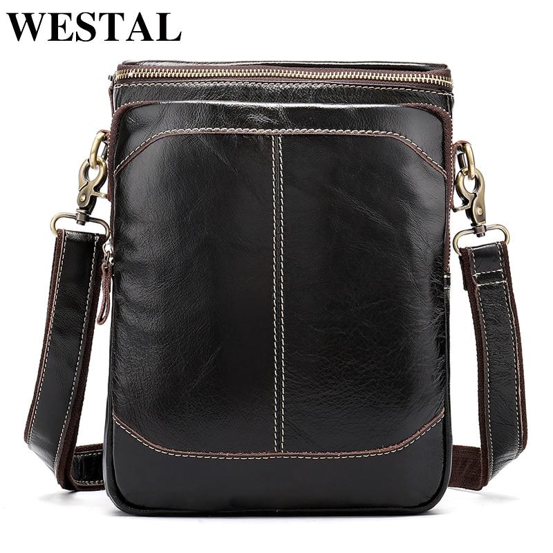 Çantë lëkure mashkullore çantë mashkullore çantë për meshkuj WESTanta Westal origjinale lëkure Rastet e reja të dizajnit të rastësishëm për burra të rinj 8003